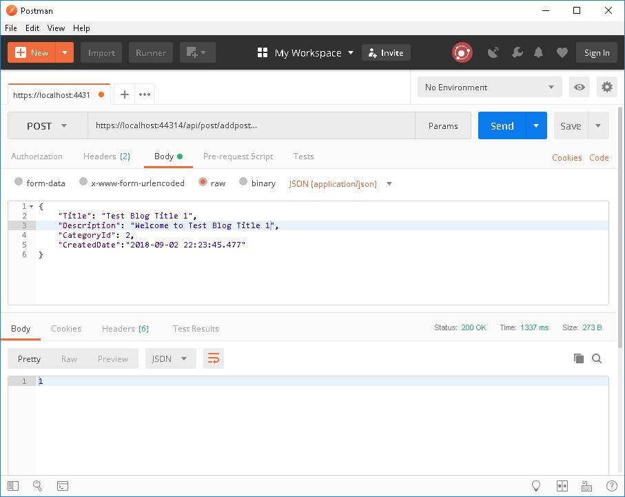 .Net Core with Entity Framework Core