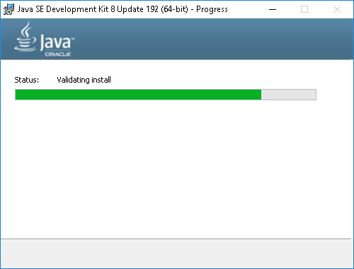 SDK-Installation-InProgress
