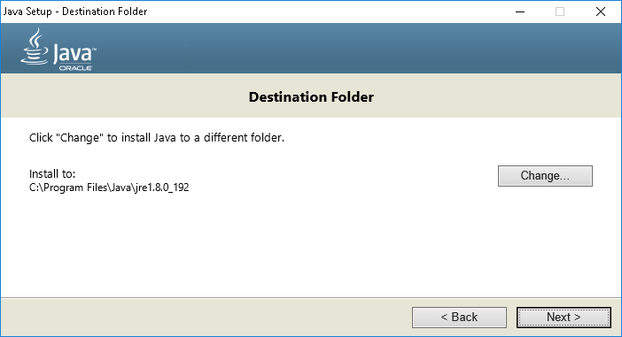 Java SDK JRE Installation