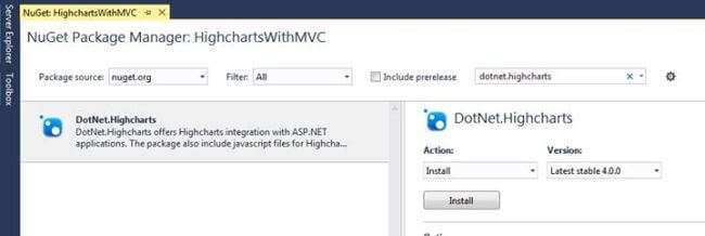NET Highcharts With ASP NET MVC | Mukesh Kumar
