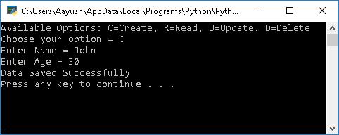 Create data in Python