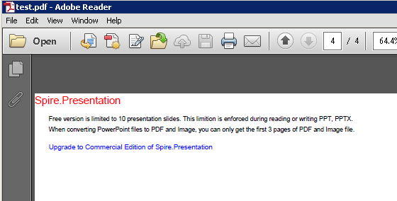 Convert any file into PDF file in Csharp using Spire Office
