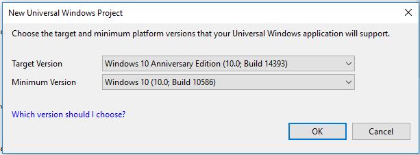 New Universal Windows Platform UWP