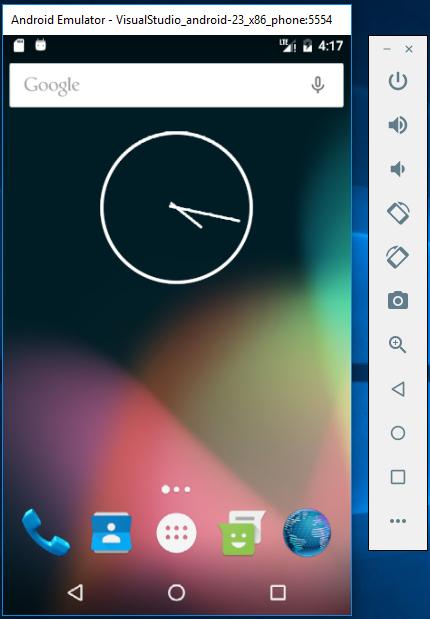 Android Emulator in Xamarin