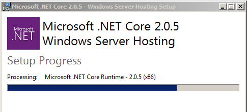 Dotnet Core Runtime