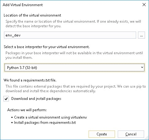 Install Python Virtual Environment